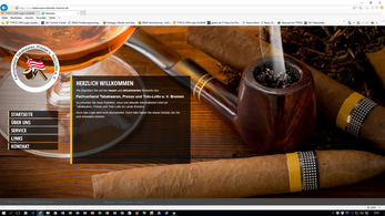 Webseite des Fachverbandes Tabakwaren, Presse u. Toto-Lotto e. V. Bremen